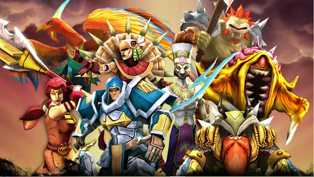 Legendary Heroes v.2.1.9 Full APK MOD Unlimited Money Gratis Terbaru