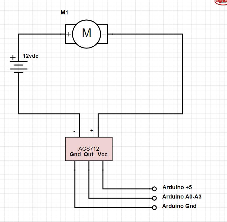 Arduino ACS712 Current Sensor - Circuit Crush
