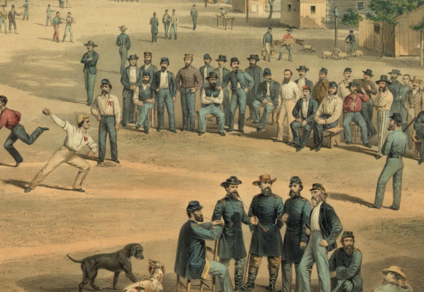 The history of baseball