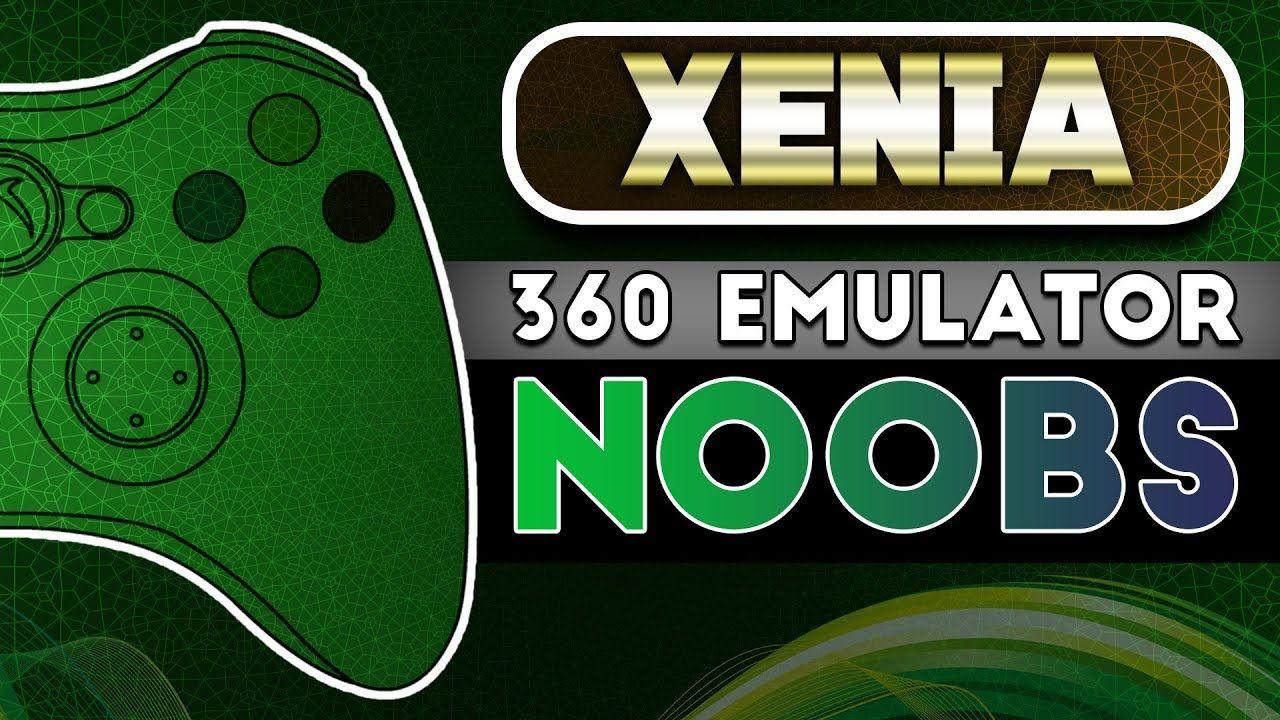 xbox360emu - Xenia Xbox360 Emulator For PC