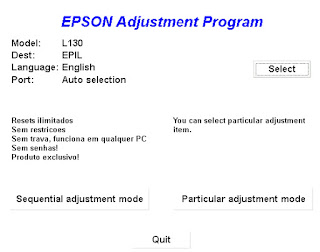 How to Reset Epson l130 Sublimation Printer Resetter Software Download