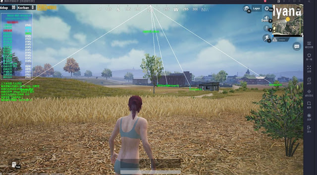 Patch 0.10.0! + File FIX BLACK Screen! Download Cheats 20 December 2018 PUBG MOBILE Tencent Gaming Buddy Wallhack, No Recoil, ESP, Aimbot