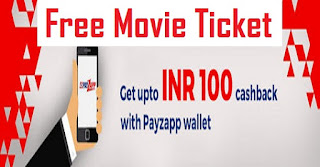 BookMyShow Ticket Booking offer