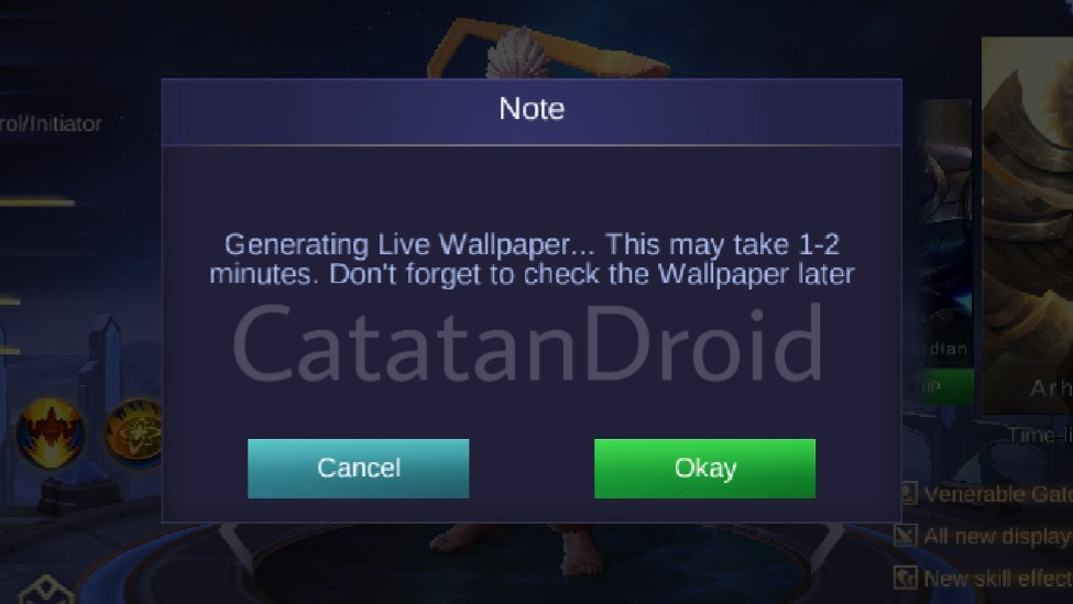 How to Set Heroes & Hero Skins MLBB as a Live Wallpaper on ...