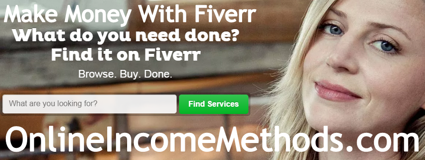 How To Make Money Online with Fiverr?