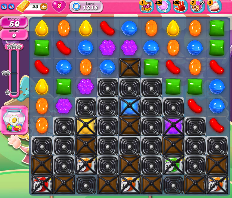 Candy Crush Saga 1348
