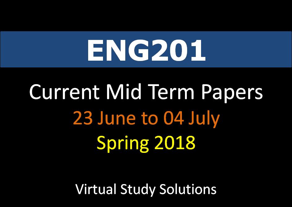 eng201 current final term paper 2013