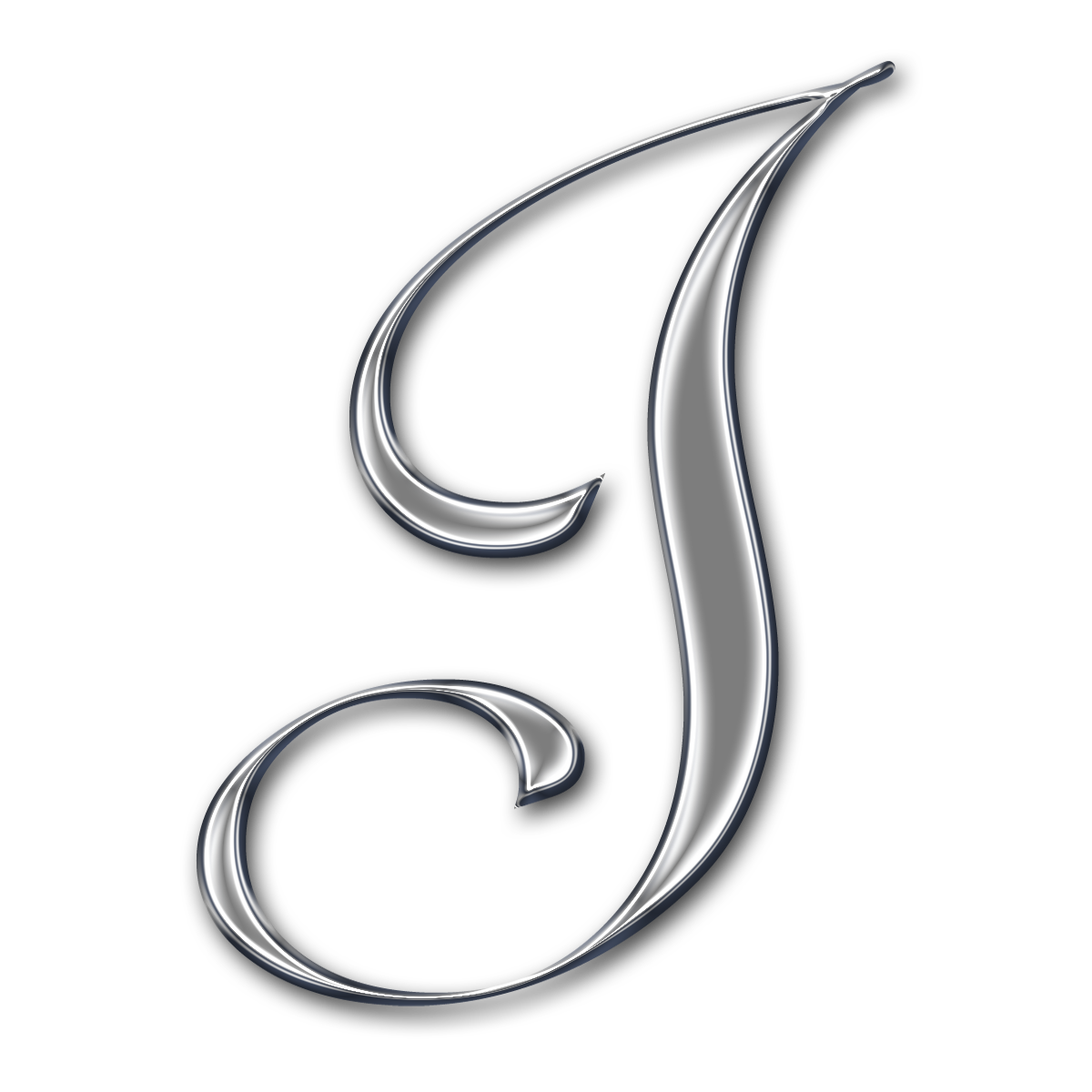 Capital Letter H...J Design Letter