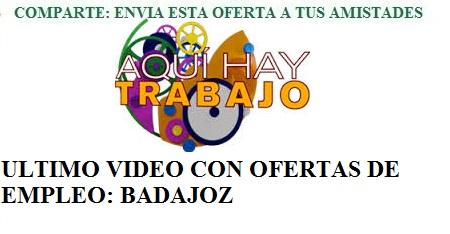 Badajoz, AQHT. Lanzadera de Empleo Virtual.