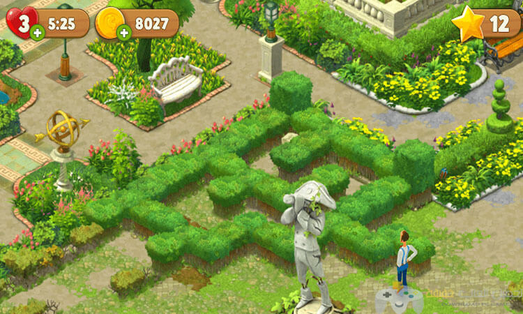 تحميل لعبة جاردن سكيبس Garden Scapes للكمبيوتر