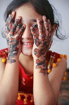 Amazing Henna Design For Girl