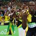 O Raio que sempre cai no topo do pódio: Bolt dá adeus com tri do 4x100