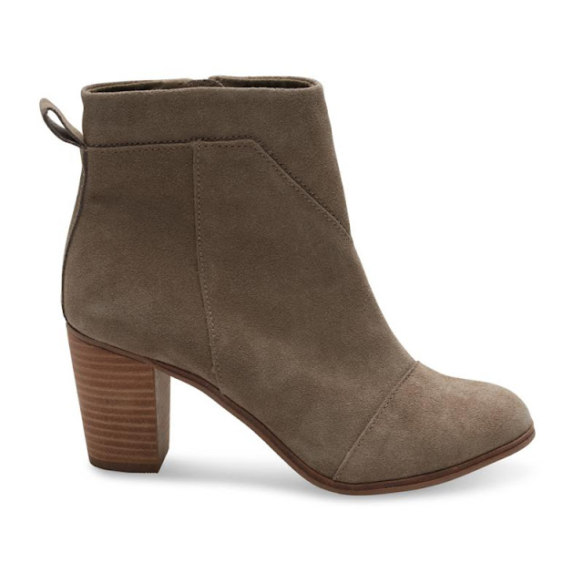 HSN: 50% off TOMS Lunata Suede Booties + Free Shipping!