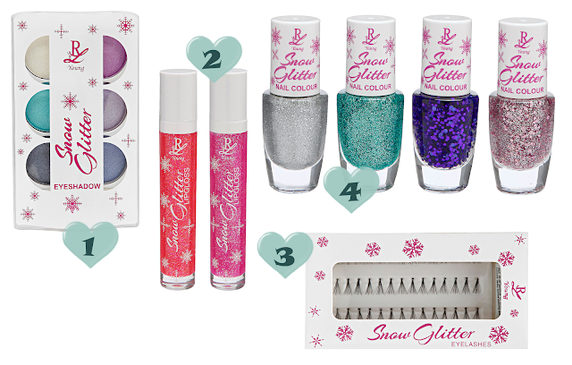 Preview - Rival de Loop Snow Glitter - limitierte Kollektion (LE) - Dezember 2013