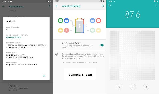 Download dan Install Update Android Pie 9.0 pada Xiaomi Mi A1