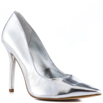 zapatos plateados para boda baratos