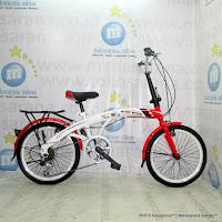 Sepeda Lipat Highwind FS1 7 Speed 20 Inci