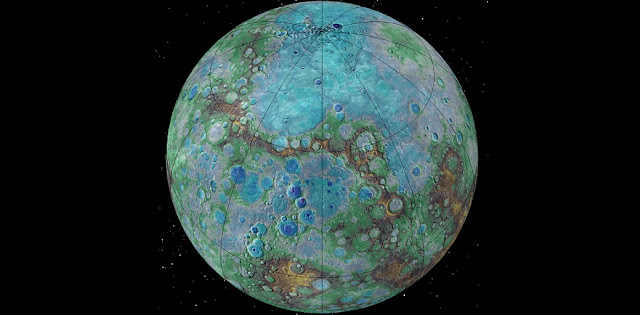 It's small, it's hot, and it's shrinking. Surprising new NASA-funded research suggests that Mercury is contracting even today, joining Earth as a tectonically active planet. Credits: NASA/JHUAPL/Carnegie Institution of Washington/USGS/Arizona State University