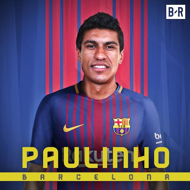 Paulinho trở thành cầu thủ đắt giá thứ 4 lịch sử Barca