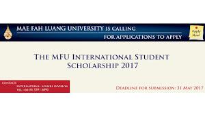 Beasiswa S1 - S2 di Thailand FULL oleh Mae Fah Luang University