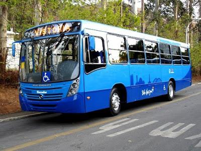 quadro de horário de ônibus