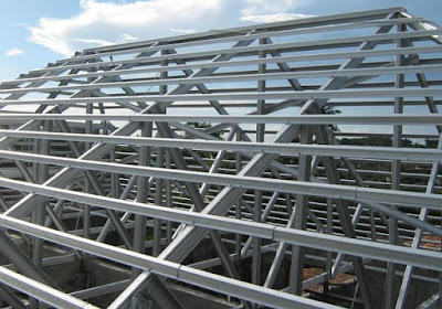 Memilih kualitas Matrial Rangka Atap Antara kayu Dan Besi Galvalum 3