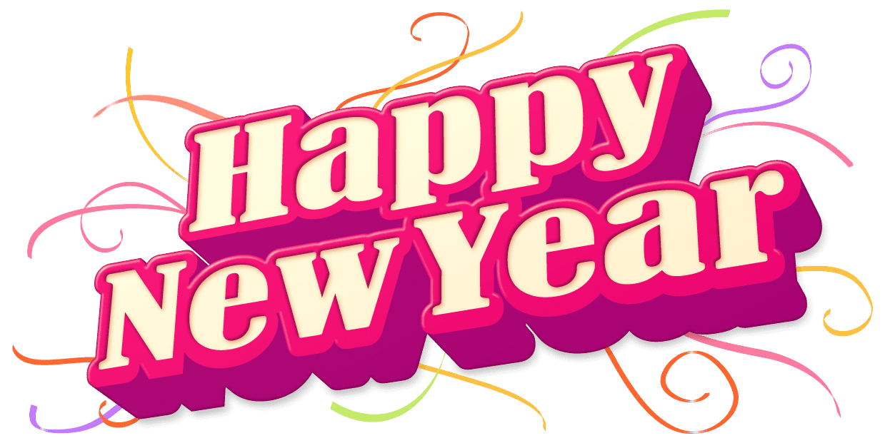Happy New Year 2013 Png Pack Sticker Line Camera