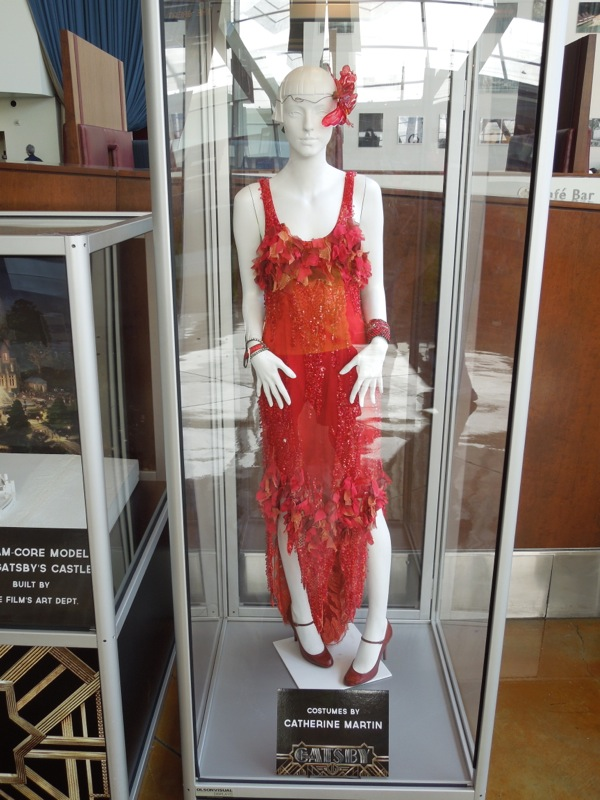 Great Gatsby red flapper dress