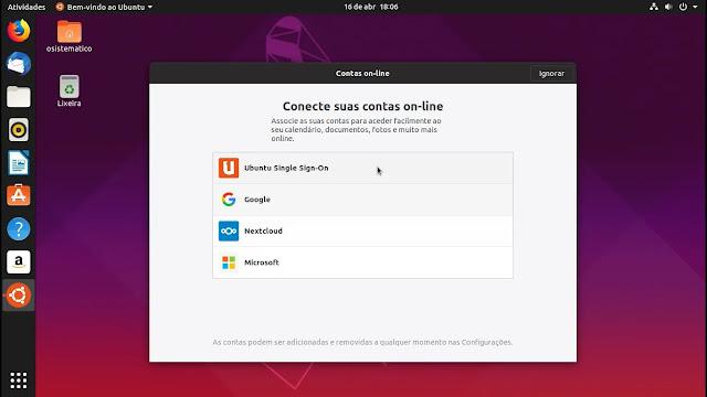 contas-online-canonical-lançamento-linux-ubuntu-disco-dingo-1904-19-04-gnome-shell-yaru-tema
