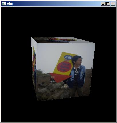 OpenGL - GLUT Tutorial: OpenGL - Kubus 3D Bergambar