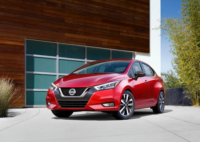 2020 Nissan Versa - front