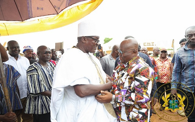 Universal access to electricity by end of my term – President Nana Addo pledges
