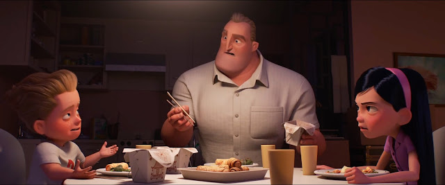 Incredibles 2 Dinner Table
