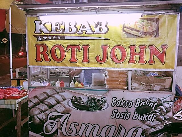 Roti Jhon Mix Kebab
