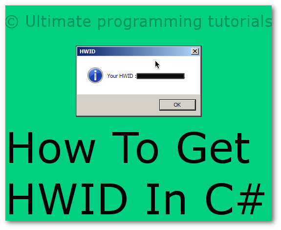 How To Get HWID In C#