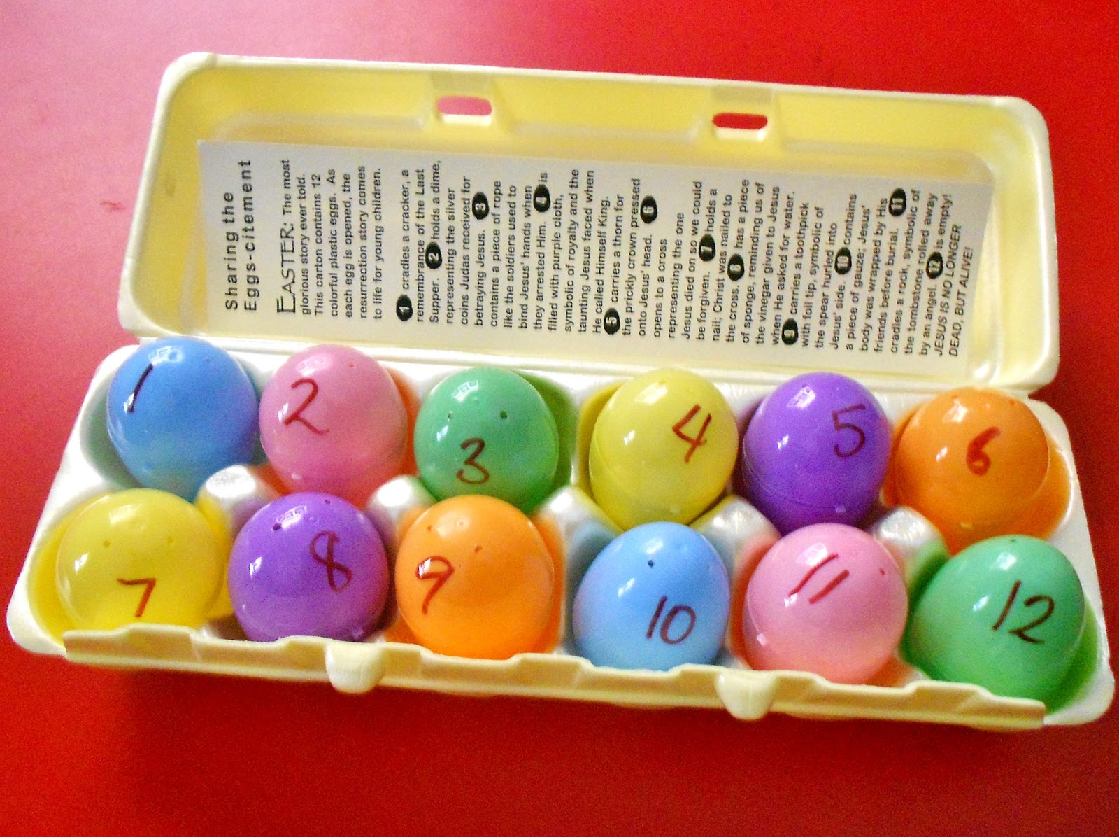 Princesses Pies Preschool Pizzazz Make Your Own Resurrection Eggs