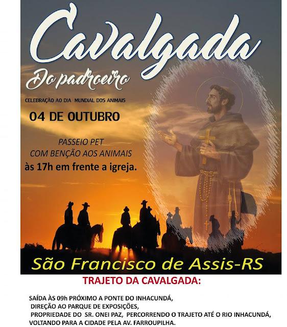 CAVALGADA DO PADROEIRO