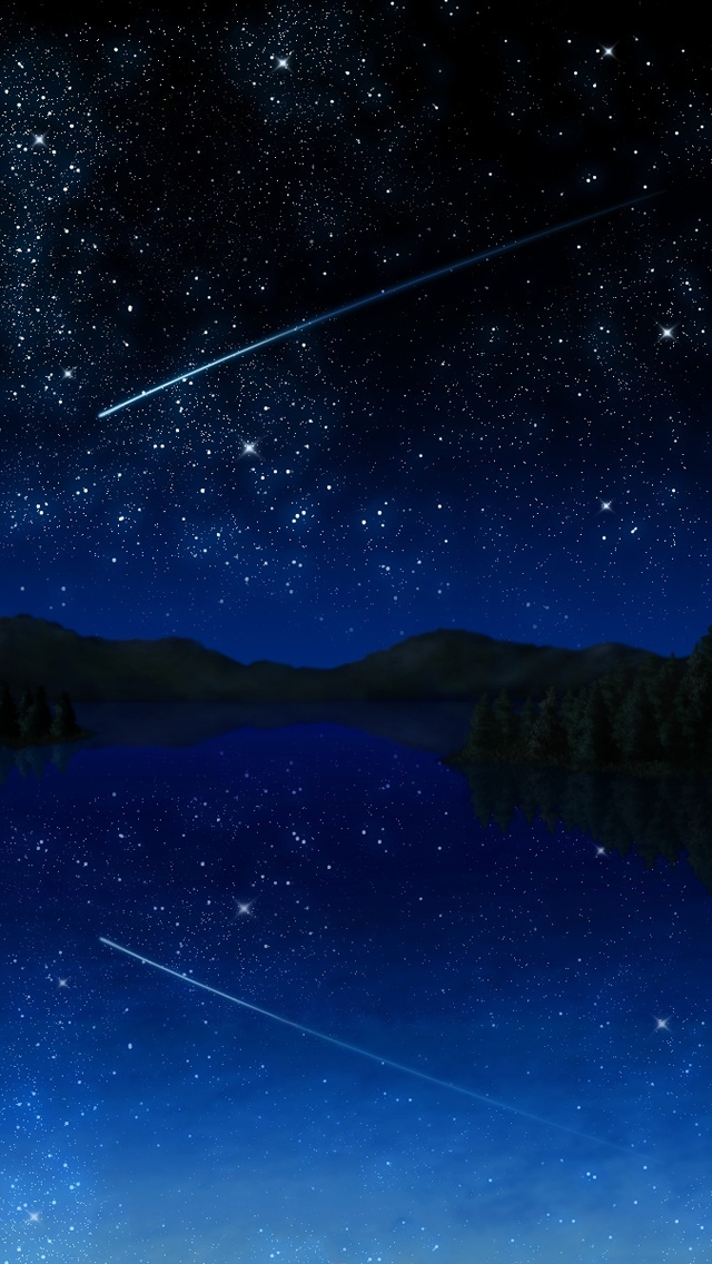 Free Wallpaper Phone Shooting Star Wallpaper Iphone 5