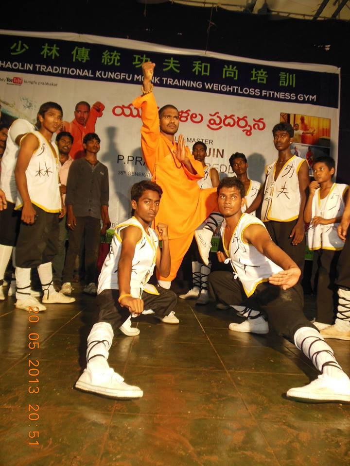Shaolin Kung-Fu India Indian Kung Fu Master Shifu -2555