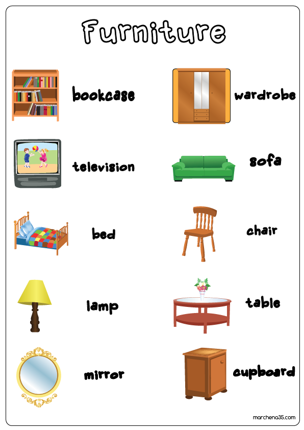 English Immersion Program Word Power Furniture