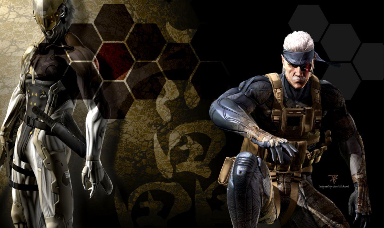 Metal Gear Solid 4 Raiden Video Games Hd Wallpapers Wide Wallpapers