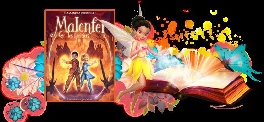 Malenfer, tome 3 : Les héritiers de Cassandra O'donnell