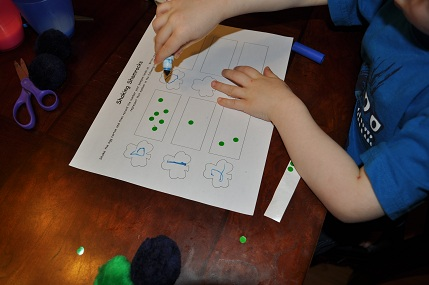 St. Patrick's day math worksheet and activities