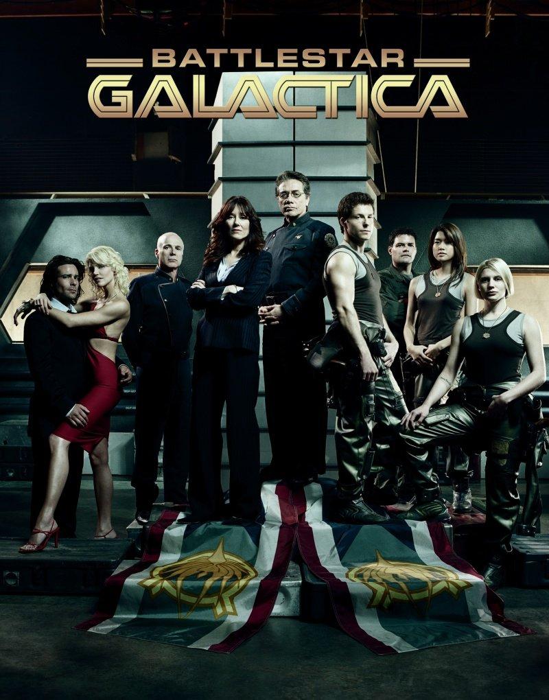 battlestar galactica serial recenzja 2003 olmos sackhoff helfer
