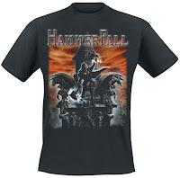Hammerfall - koszulka