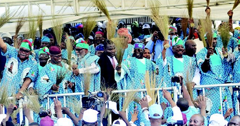 Asiwaju Tinubu, Ajimobi, Welcome Akala, Folarin, Others To APC On Oyo Governor's 68th Birthday