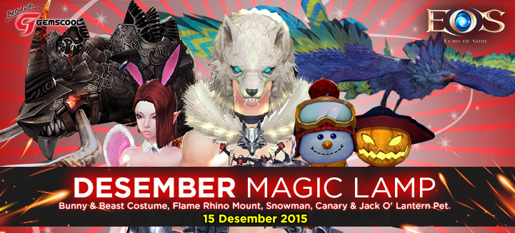 Magic Lamp Edisi Desember Echo of Soul Indonesia