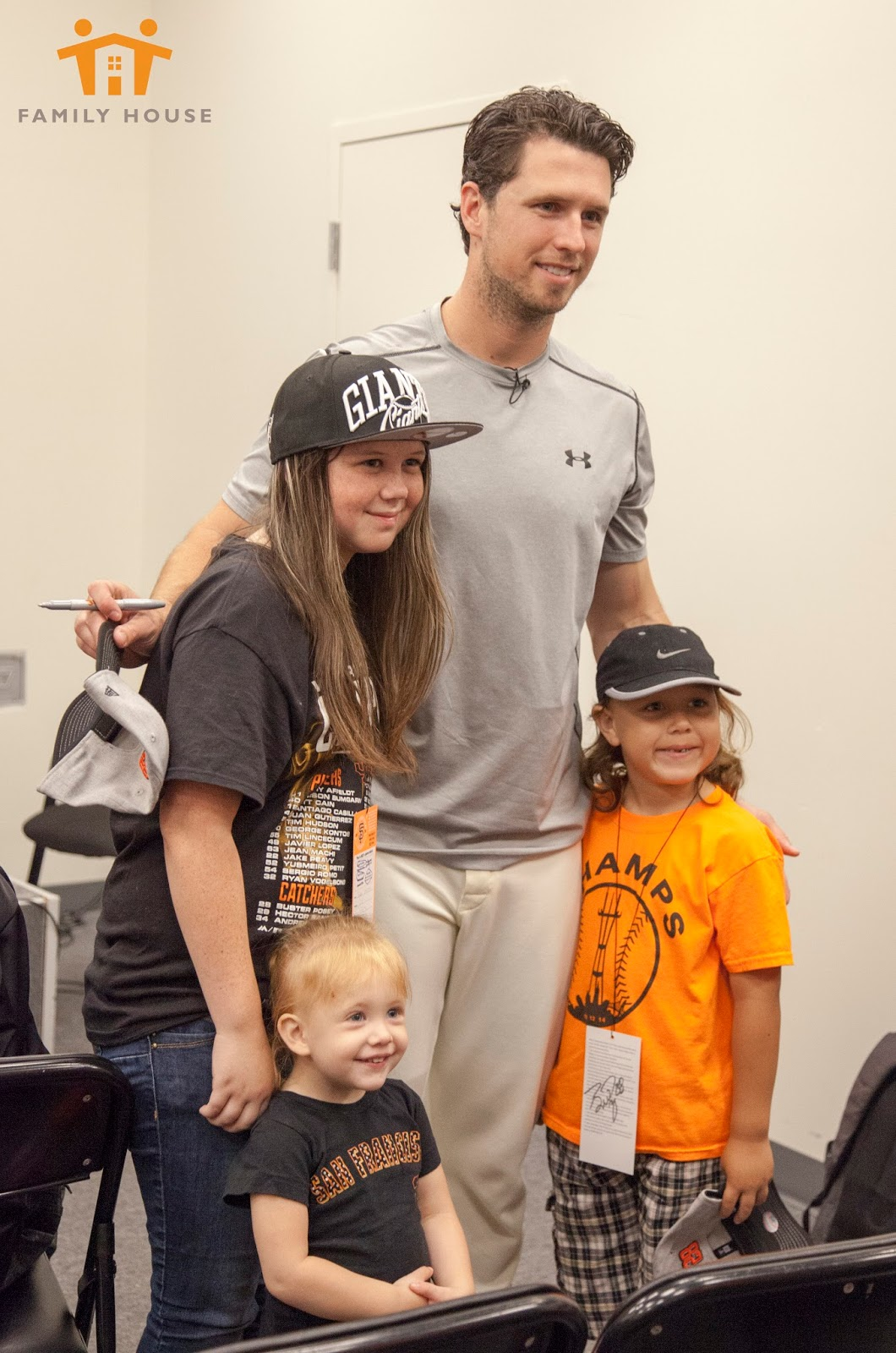 Family house living love july 2016 families got to spend some time with buster and kristen asking questions signing autographs and taking pictures and then got to see the walk off win kristyandbryce Image collections