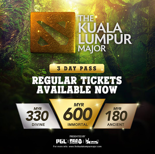 Get The Kuala Lumpur Major Pass Now to Catch the Dota Pro Circuit (DPC) 2018/2019 Season! - CleverMunkey | Events. Food. Gadget. Lifestyle. Travel.