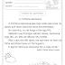 A MINHOCA GENOVEVA - TEXTO E INTERPRETAÇÃO INTERDISCIPLINAR / DOIS TIPOS DE LETRAS -1º ANO - 2º ANO